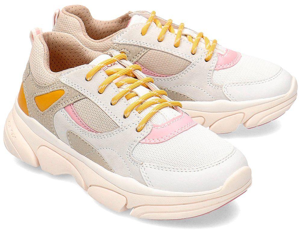 Geox Junior Lunare - Sneakersy Dziecięce - J02BGD 0BC14 C0439 - Wielokolorowy