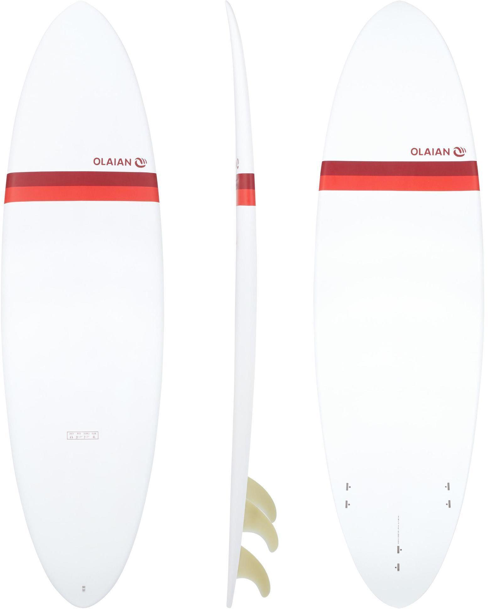 Deska surfingowa Egg 500 6''6 z 3 statecznikami