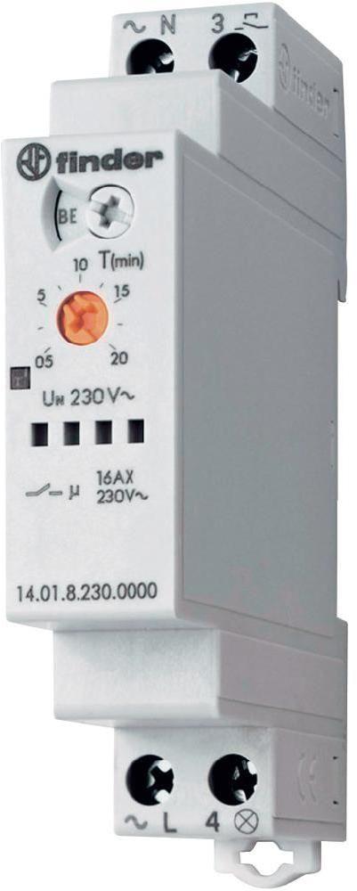 Przekaźnik czasowy automat schodowy Finder 14.01.8.230.0000 Przekaźnik czasowy automat schodowy Finder 14.01.8.230.0000