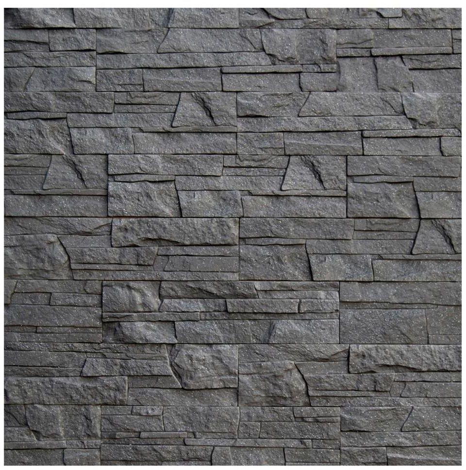 Kamień elewacyjny LAZZARO Grafit - Brokat 38 x 10 cm MAXSTONE