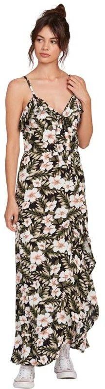 sukienka VOLCOM - Coco Maxi Dress Black Combo (BLC