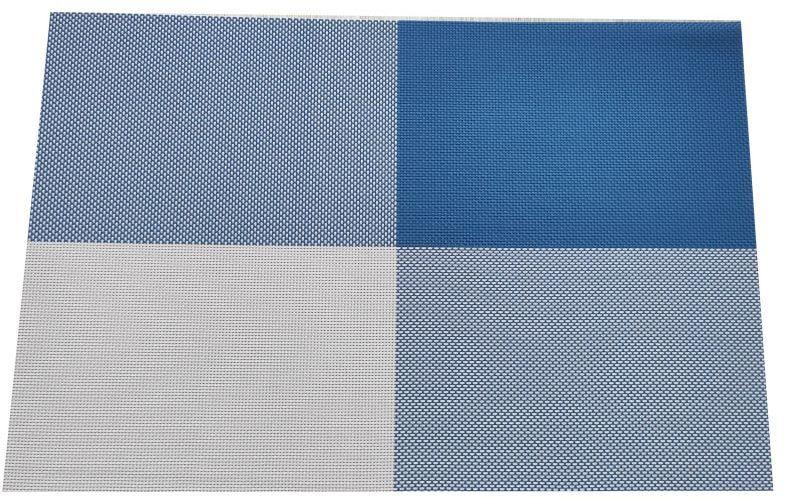 Podkładka na stół szachownica - niebieska