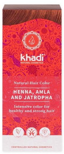 Henna naturalna z amlą i jatrophą - khadi