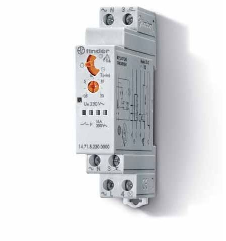Przekaźnik czasowy automat schodowy Finder 14.71.8.230.0000 Przekaźnik czasowy automat schodowy Finder 14.71.8.230.0000