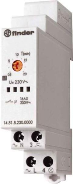 Przekaźnik czasowy automat schodowy Finder 14.81.8.230.0000 Przekaźnik czasowy automat schodowy Finder 14.81.8.230.0000