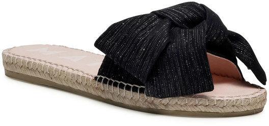 Espadryle Sandals With Bow G 0.1 J0 Czarny