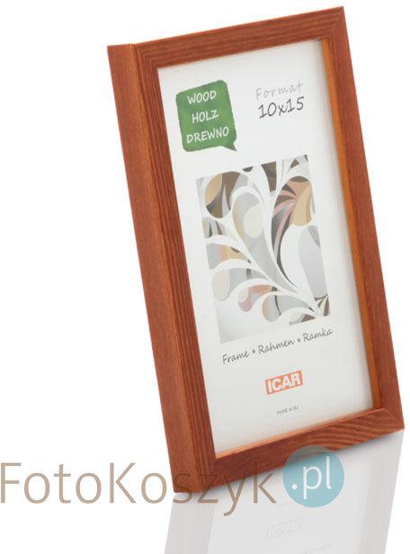 Ramka drewniana Pinia miodowa (na zdjęcie 10x15cm)