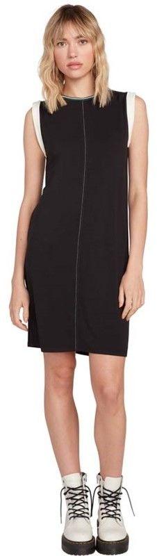 sukienka VOLCOM - Ivol 2 Dress Black (BLK