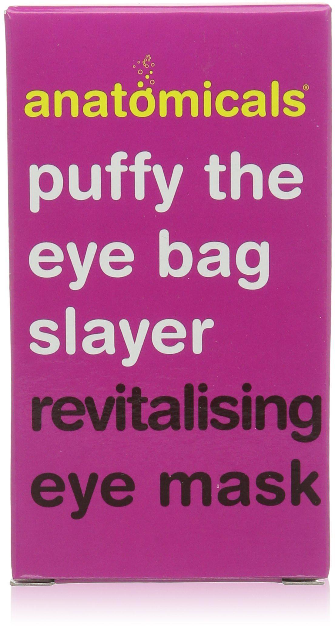 Anatomicals Rewitalizująca żelowa maska na oczy, puchnięta opaska na oczy