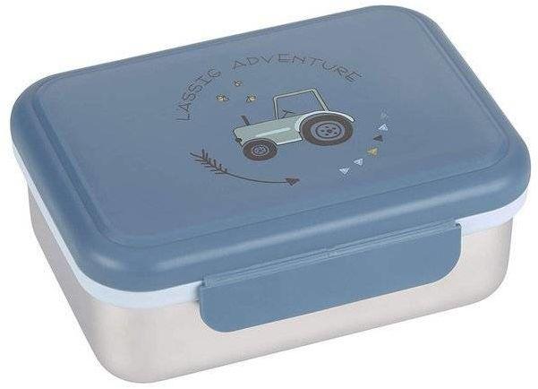 Lunchbox ze stali nierdzewnej Adventure Traktor 1210029496-Lassig, pudełka śniadaniowe