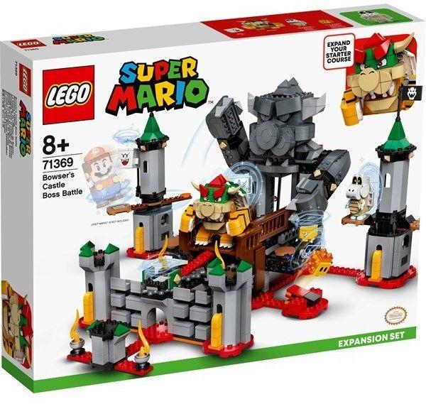 LEGO Super Mario 71369 Walka w Zamku Bowsera zestaw rozszerzający