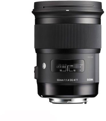 Obiektyw Sigma 50mm F1.4 ART DG HSM Canon - RATY 10X0%