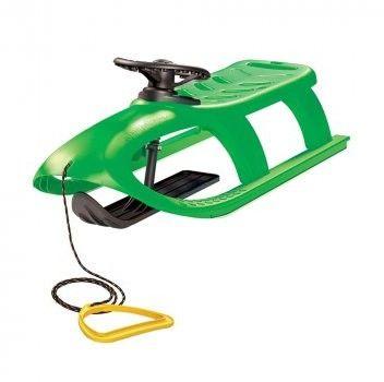 Sanki plastikowe BULLET CONTROL zielone - Prosperplast