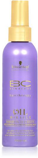Schwarzkopf BC Oil Miracle Barbary Fig Oil Mleczko odbudowujące figowe z keratyną 150 ml