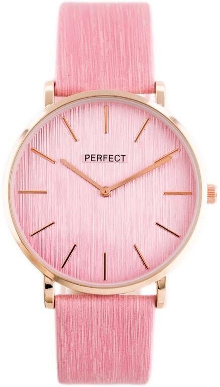 ZEGAREK DAMSKI PERFECT A3067 (zp860d) pink/rose gold