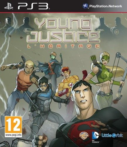 Young Justice Legacy PS 3