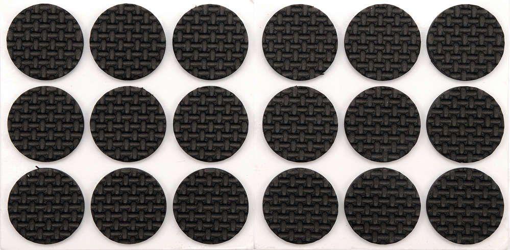 Podkładki z pianki 25mm czarne 18szt. Vorel 74886 - ZYSKAJ RABAT 30 ZŁ