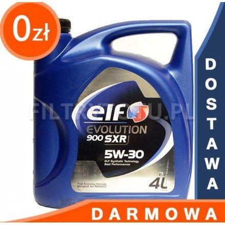 ELF Evolution 900 SXR 5W30 4l DARMOWA DOSTAWA
