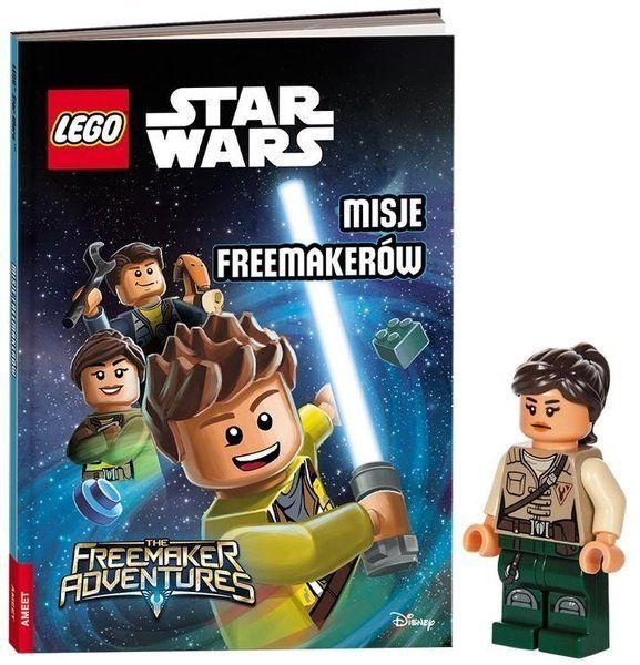Książka do czytania Lego Star Wars Misje Freemakerów + minifigurka