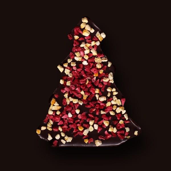 Choinka z gorzkiej czekolady