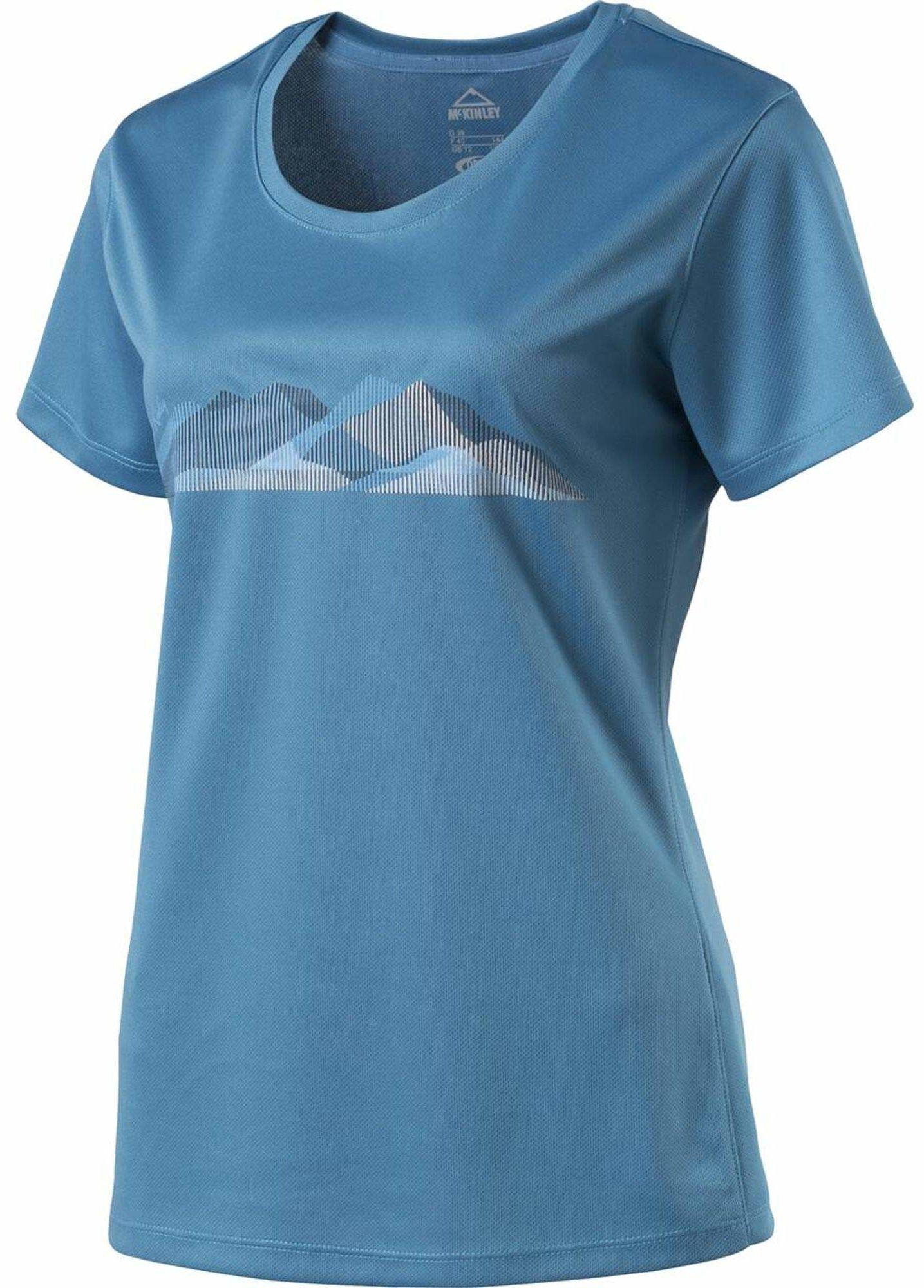 McKinley damska koszulka Raffa NIEBIESKI Size 40