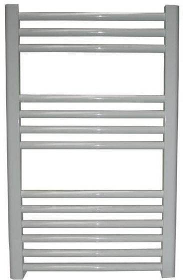 Grzejnik łazienkowy york - wykończenie proste, 600x800, biały/ral