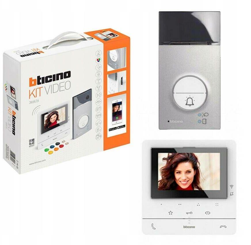 Zestaw 1-rodzinny z wideodomofonem Classe 100 Smart Wi-Fi Legrand 364614