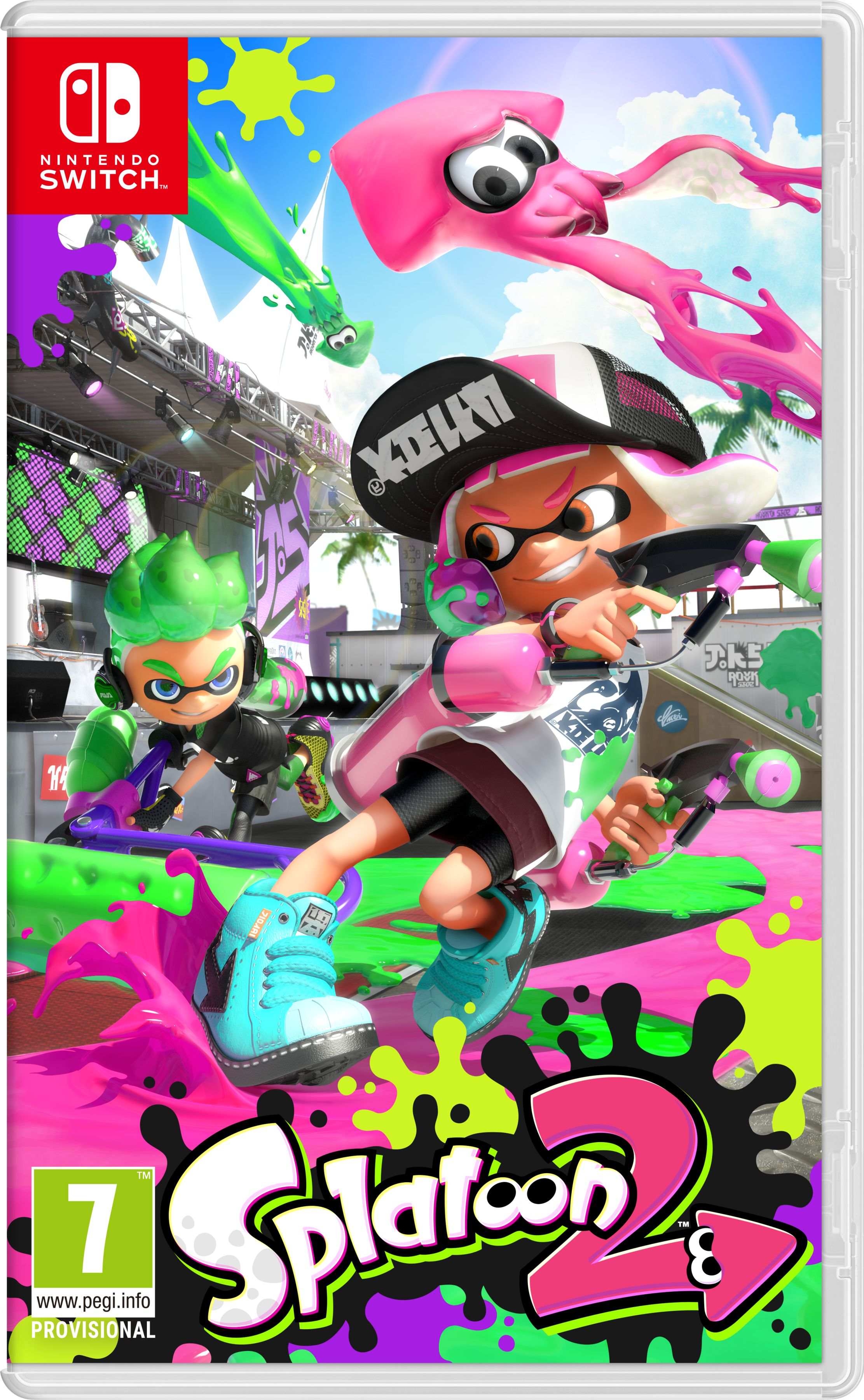 Gra Splatoon 2(Nintendo SWITCH)