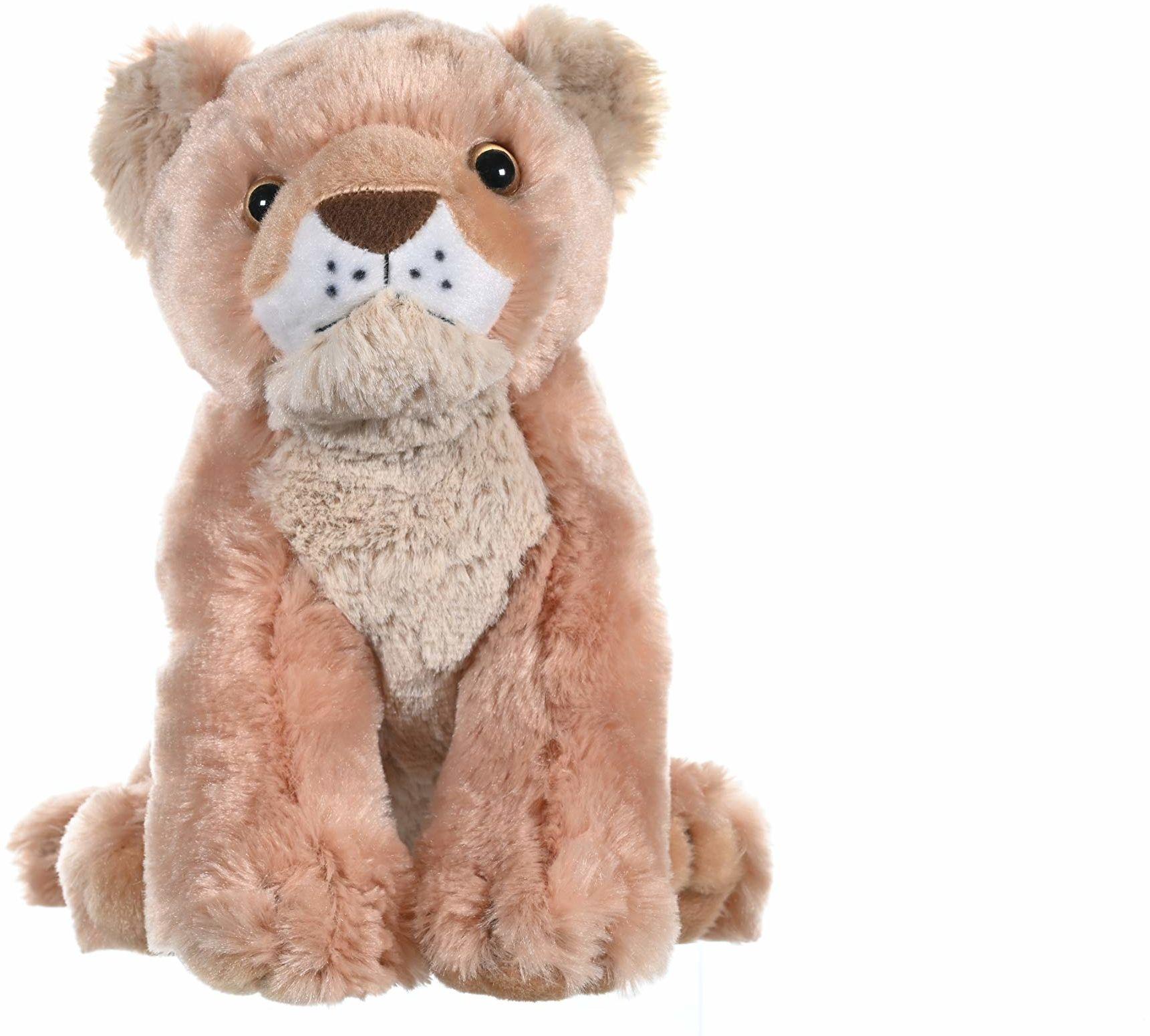 Wild Republic 10911 lew dziecko pluszowe miękkie, przytulanki zabawki, prezenty dla dzieci 30 cm