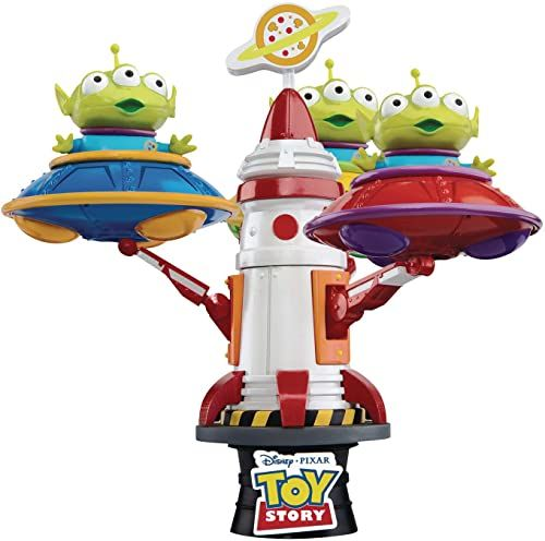 Beast Kingdom - Toy Story DS-052Dx Alien Spin UFO D-Stage 6 Statue