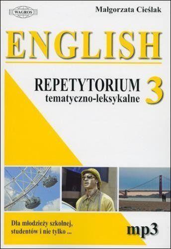 English. Repetytorium 3 tem-leks.+ MP3 WAGROS - Małgorzata Cieślak