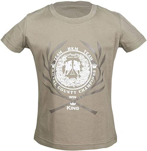 HKM Unisex spodnie T-shirt -San Luis-2500 niebieski 2500 Beige 122-128
