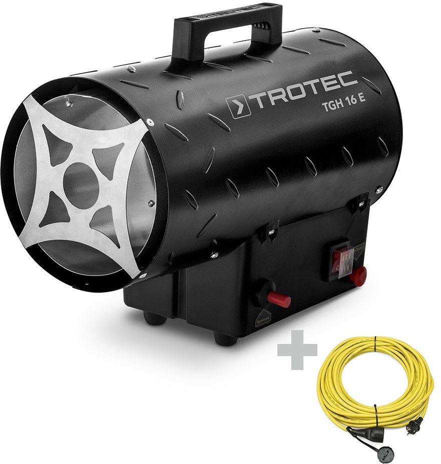 Nagrzewnica gazowa TGH 16 E z przedłużaczem 20 m / 230 V / 2,5 mm