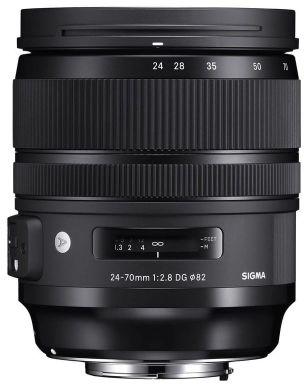 Obiektyw Sigma 24-70mm F2.8 ART DG OS HSM Canon - RATY 10X0%