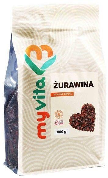 MyVita żurawina suszone owoce 400 g
