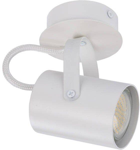 Nowoczesna lampa sufitowa plafon KAMERA 1 biały 32560