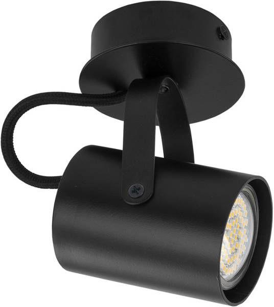 Nowoczesna lampa sufitowa plafon KAMERA 1 czarny 32561