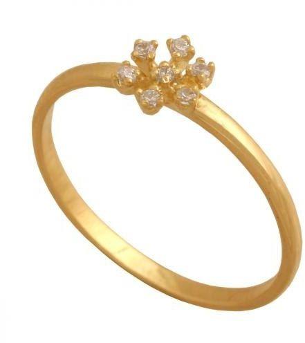 Złoty pierścionek młodzieżowy Pn448
