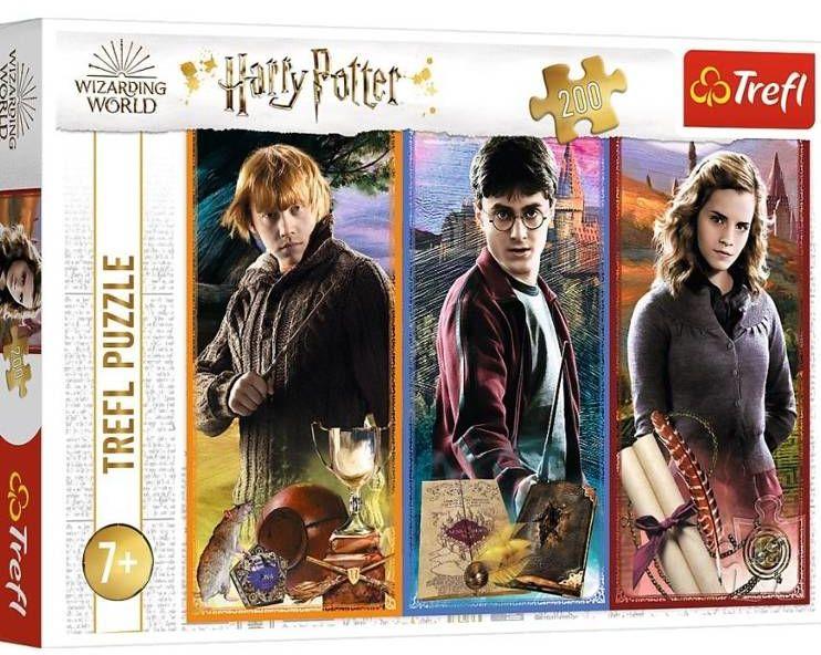 Puzzle 200 W świecie magii i czarów TREFL