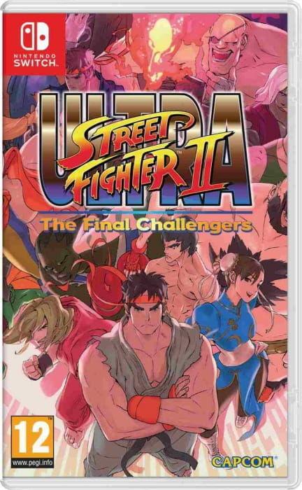 Gra Ultra Street Fighter 2 The Final Challenger (Nintendo SWITCH)