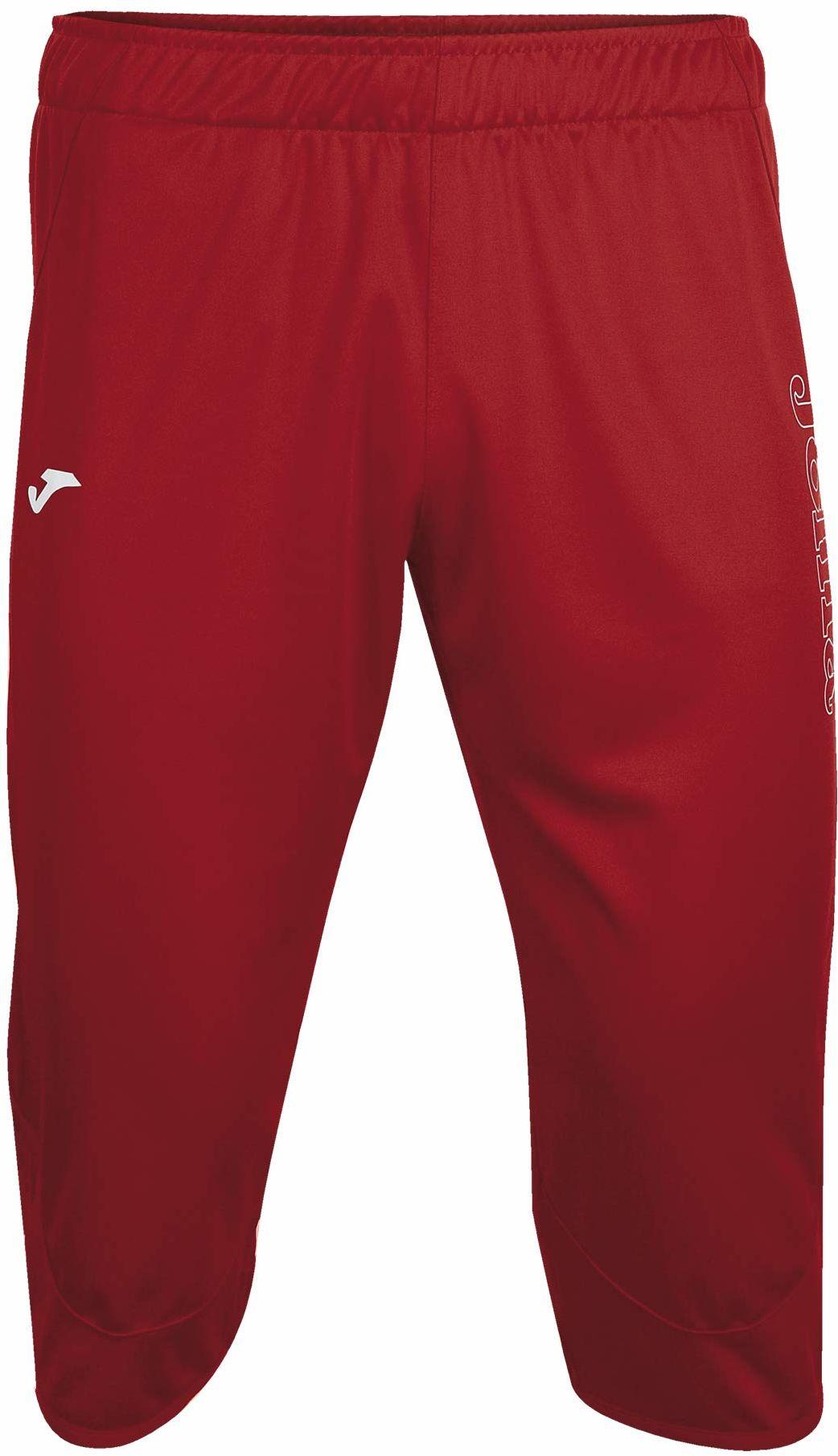 Joma Combi Vela 3/4 Pirate spodnie treningowe dla dorosłych, uniseks czerwony Rot - 600 L