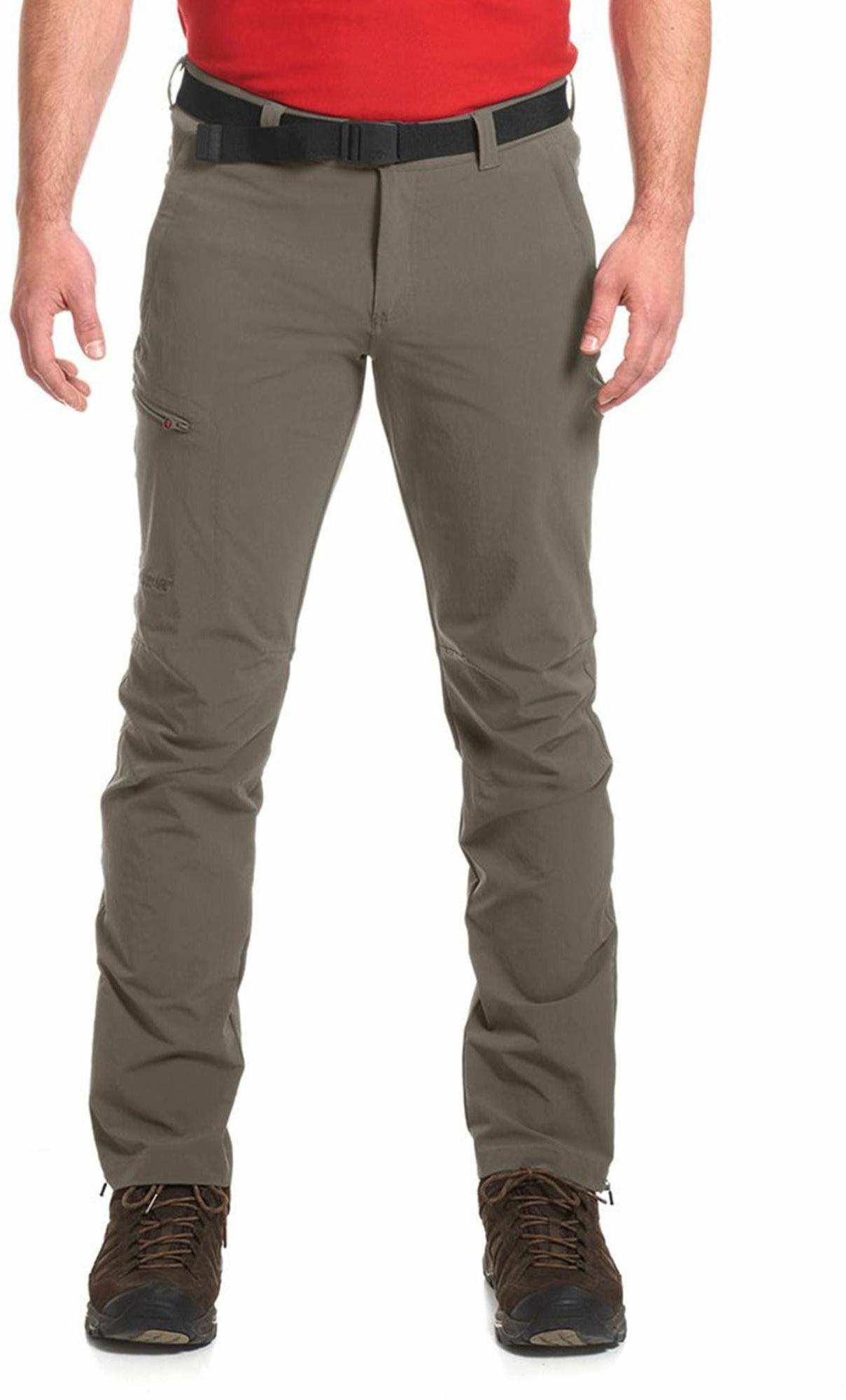 Maier Sports Męskie spodnie trekkingowe Torid Slim oliwkowo-zielony Oliwkowa zieleń (teak/780) 28