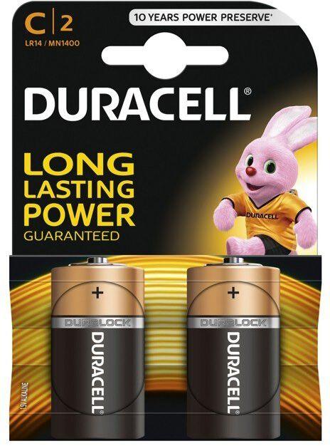 Bateria alkaliczna Duracell LR14 C 2 sztuki