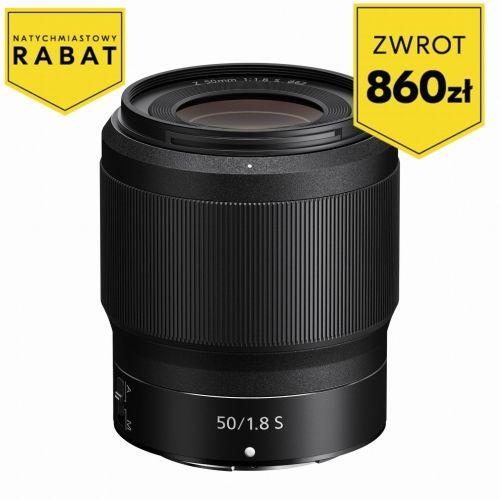 Obiektyw NIKKOR Z 50mm f/1.8 S