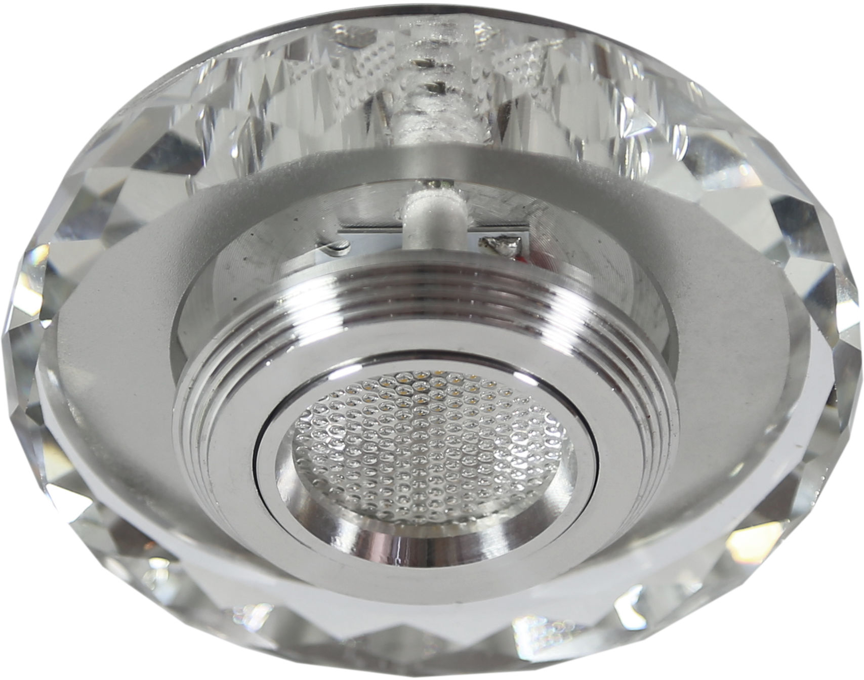 Candellux SS-35 AL/TR oprawa do wbudowania stropowa okrągła 3W LED COB 230V 10cm