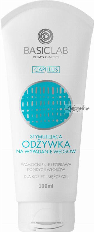 BASICLAB - CAPILLUS - Stymulująca odżywka na wypadanie włosów dla kobiet i mężczyzn - 100 ml