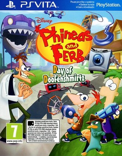 Phineas and Ferb PSV