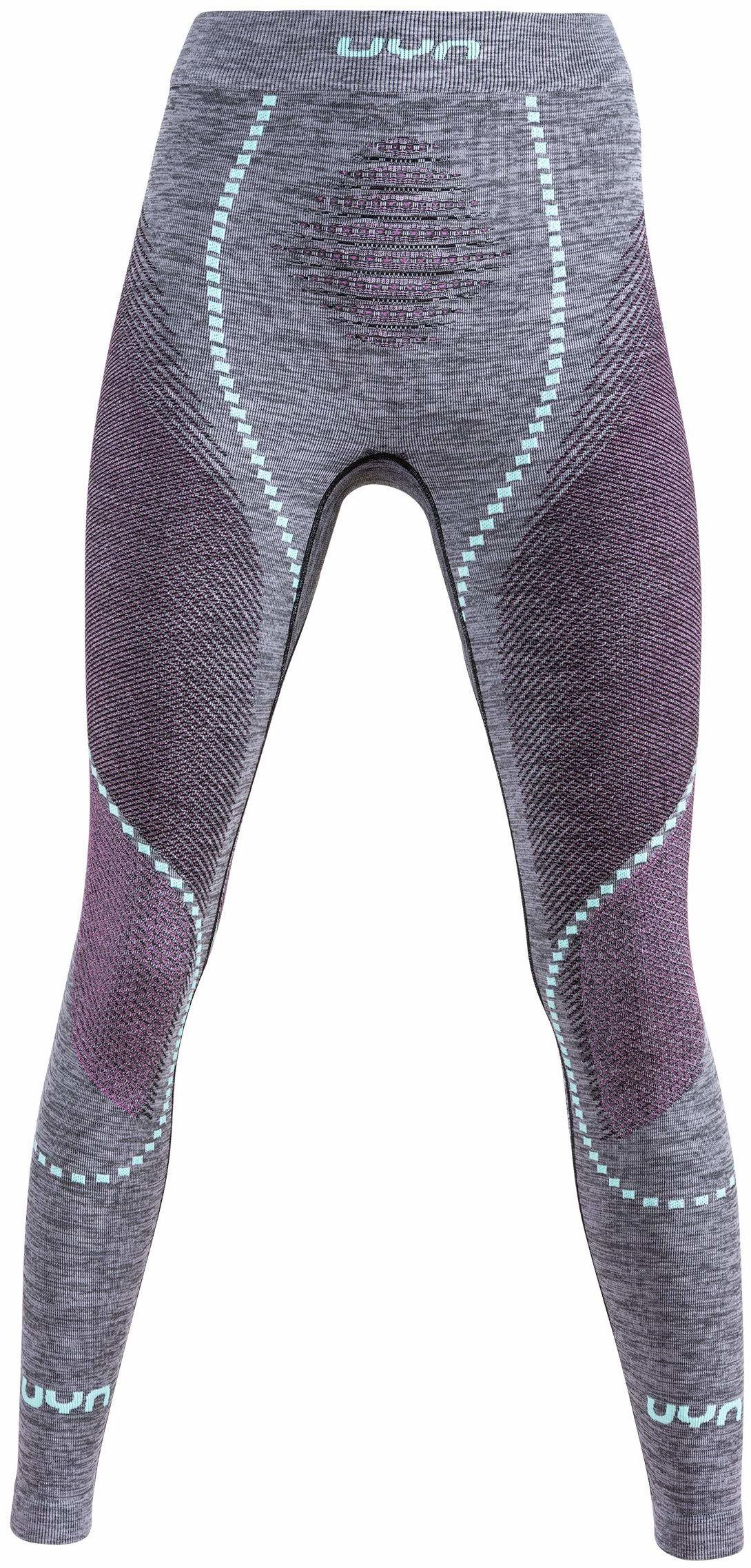 UYN damskie kalesony Uyn Lady Ambityon Uw Pant Long Melange czarny Black Melange/Pink/Aqua L-XL