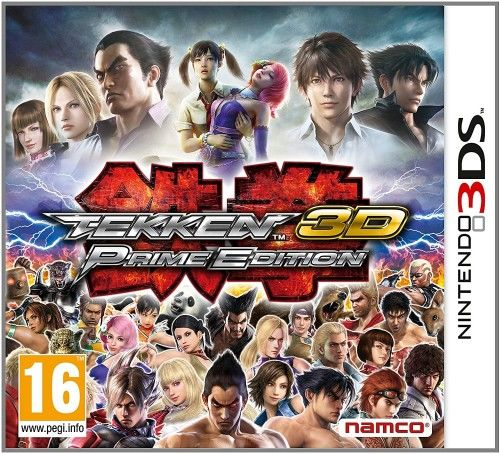 Tekken 3D Prime Edition 3DS