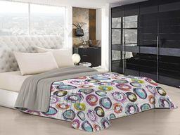 "Italian Bed Linen ""Fantasy"" letnia kołdra, len, cerchi astratti, podwójna"